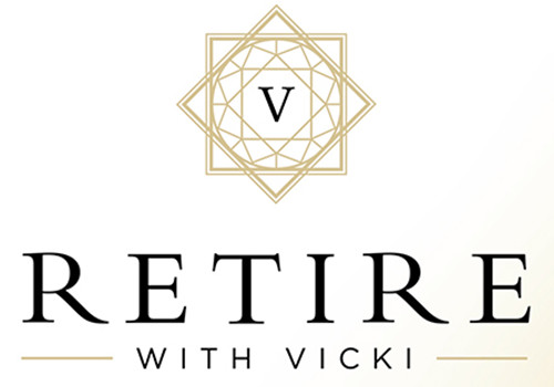 Retire with Vicki Animated Logo